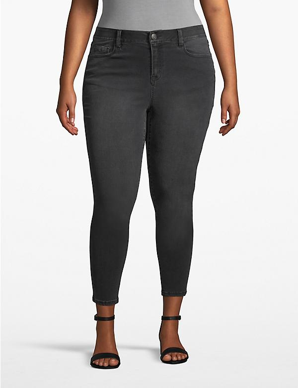 Venezia Skinny Ankle Jean - Shadow Wash