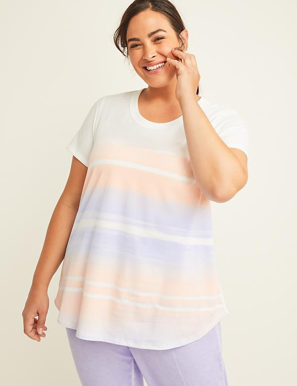 Watercolor Graphic LIVI Active Tee