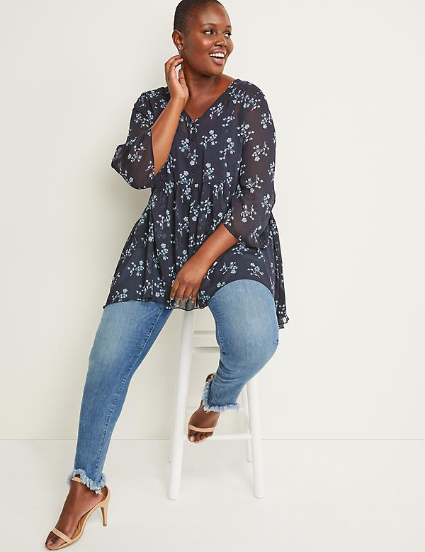 5c68746428 New Plus Size Tops, Shirts & Blouses | Lane Bryant