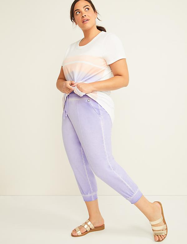 Washed LIVI Active Jogger Capri