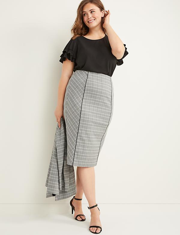 712766cbb Plus Size Skirts: Maxi, Pencil & Denim | Lane Bryant