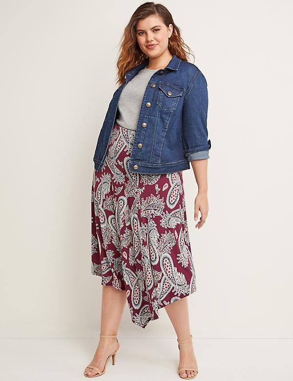 Plus Size Skirts: Maxi, Pencil & Denim | Lane Bryant