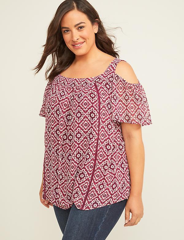 d8f2263babd295 Plus Size Blouses & Dressy Tops | Lane Bryant
