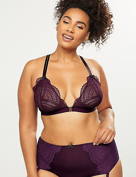 Lace Unlined No-Wire Bra