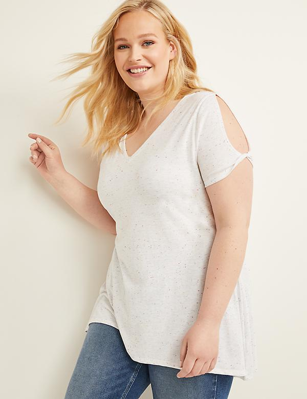 8082be19 New Arrivals | Women's Plus Size Tops, Shirts & Blouses | Lane Bryant