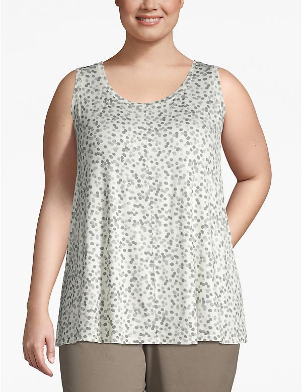 Scoop-Neck Swing Tank