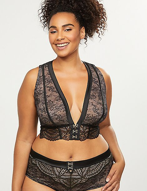 Unlined No-Wire Bra Top
