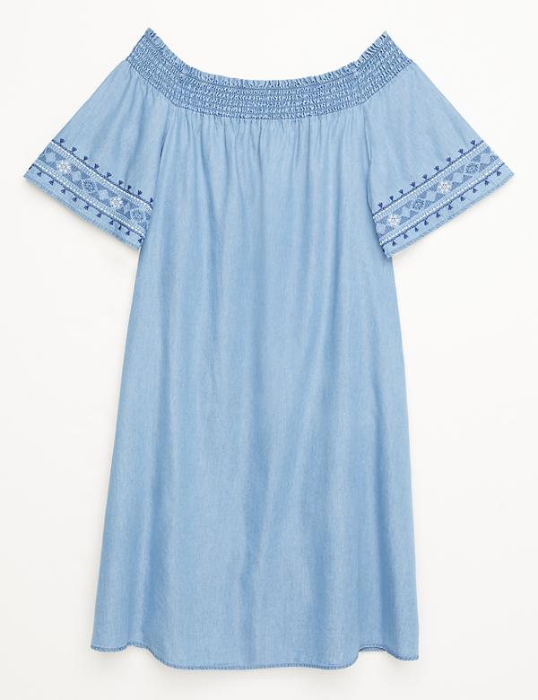 Convertible Smocked Swing Dress