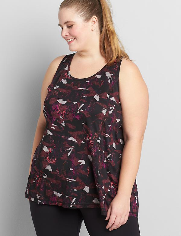 LIVI Active Wicking Tank - Draped Back