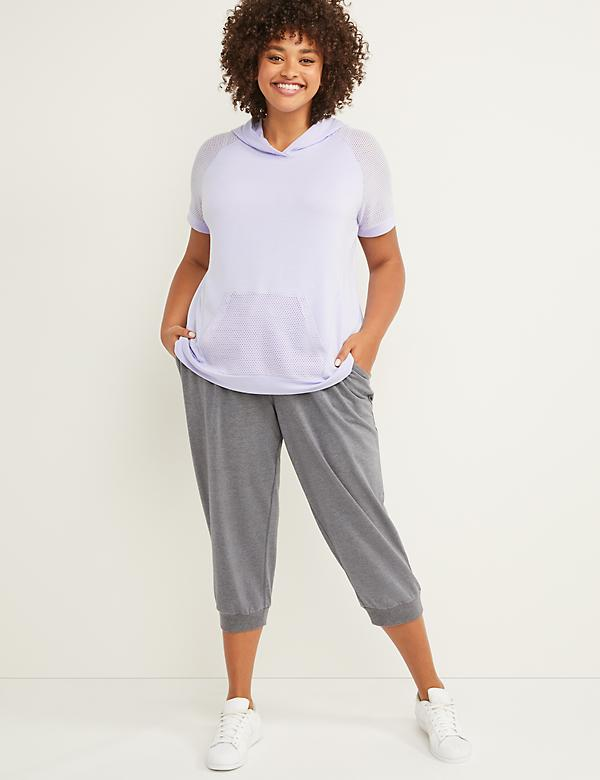 LIVI Active French Terry Capri Jogger