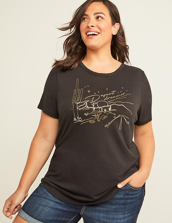 b8a751f1d45 Plus Size Tops & Shirts For Women | Lane Bryant