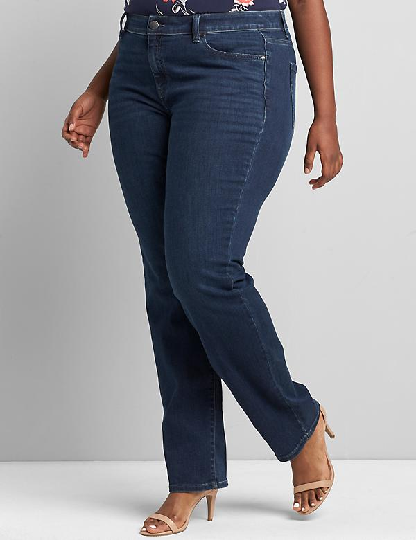 Signature Fit Straight Jean-Everyday Dark Wash