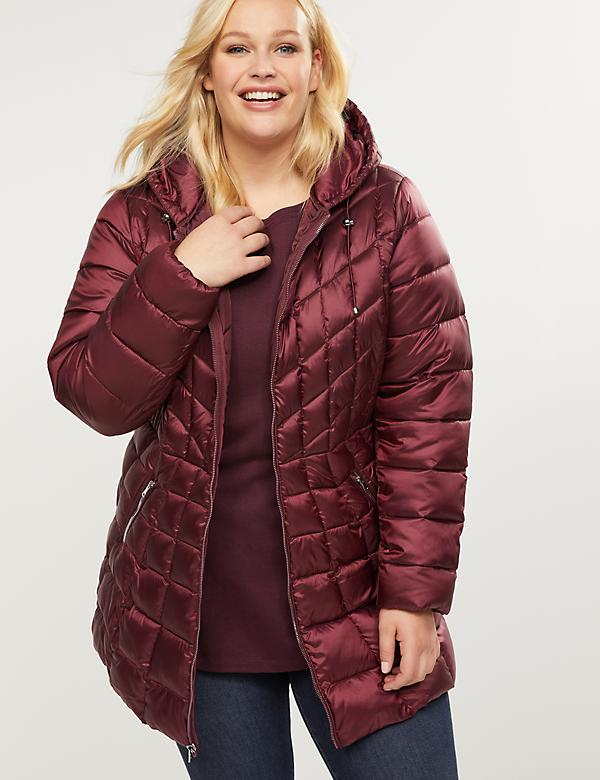 EcoPlume™ Packable Puffer Coat