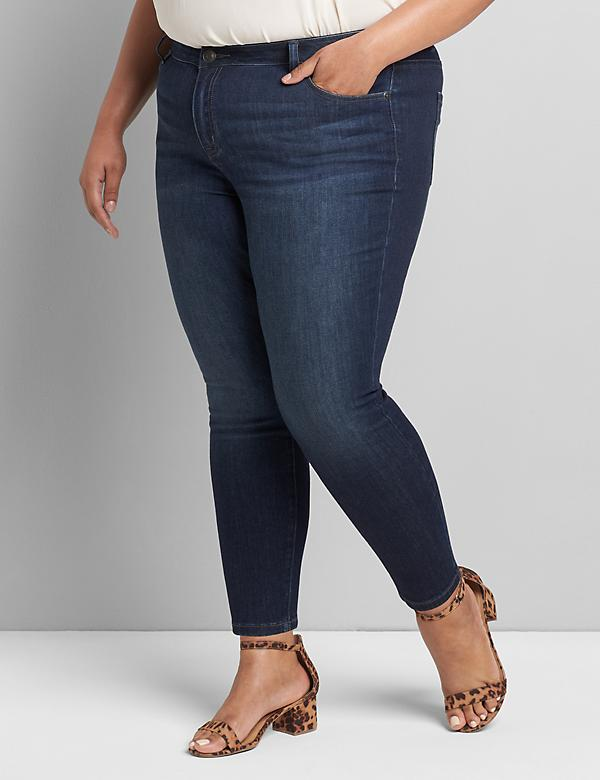 Lane Essentials Venezia Skinny Jean - Dark Wash