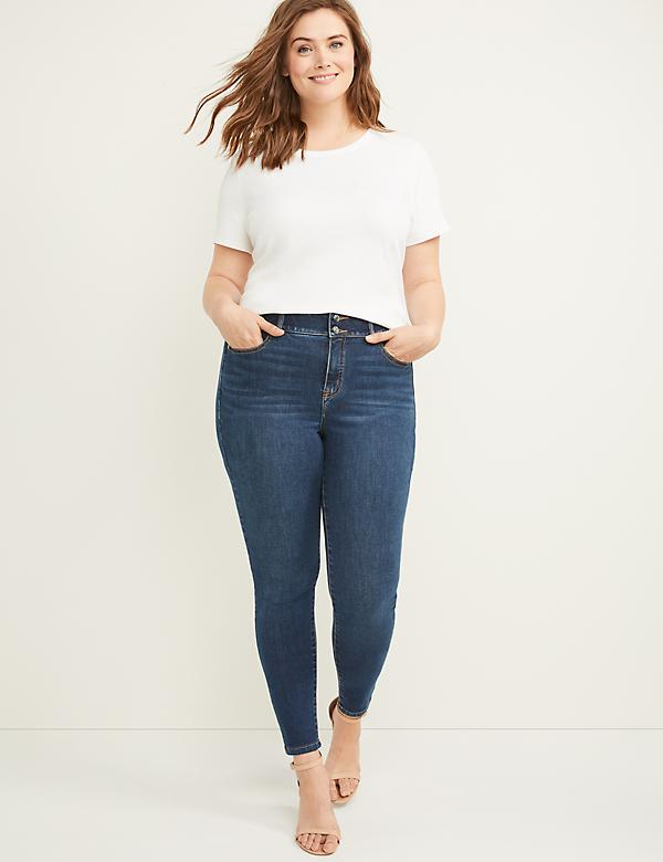 Tri-Sculpt High Rise Skinny Jean - Dark Iris Wash