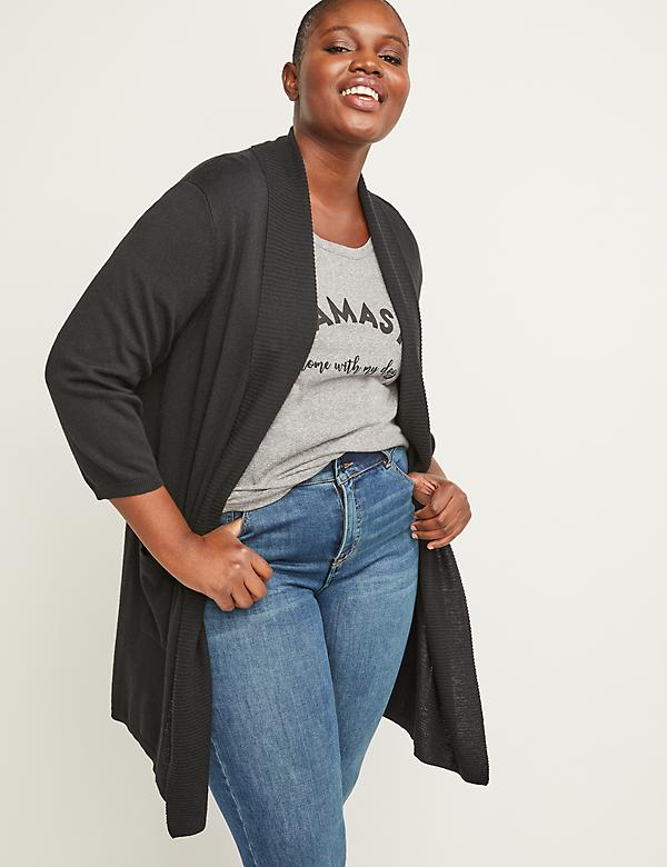 00bf530d837c6 Plus Size Overpieces & Long Sweaters | Lane Bryant