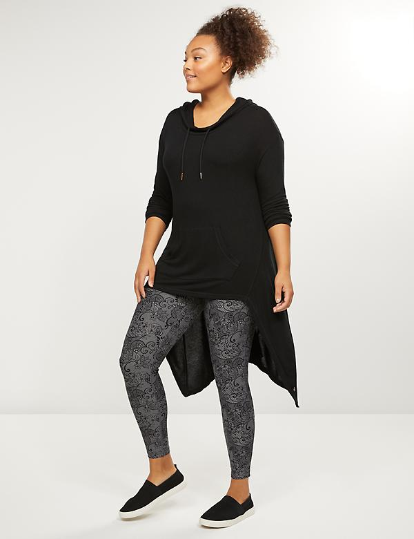 LIVI 7/8 Power Legging With Wicking - Floral