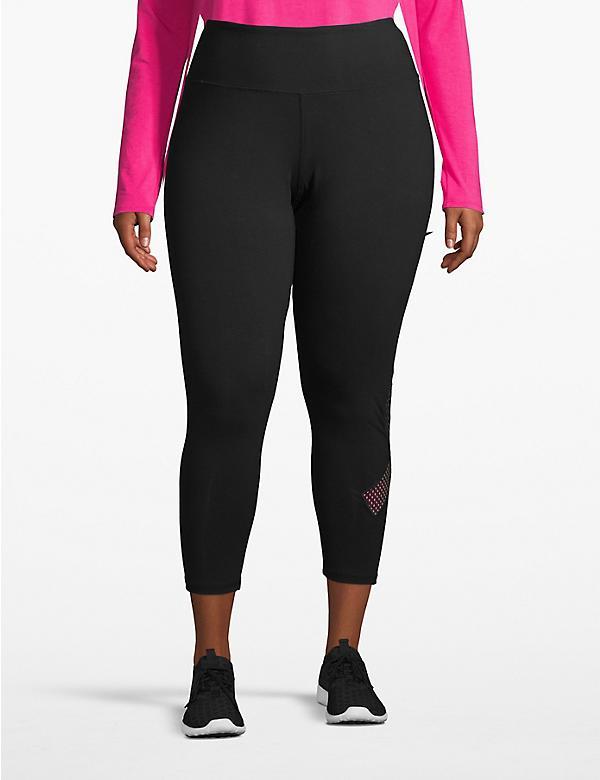 Active Capri Legging - Ribbon Patch