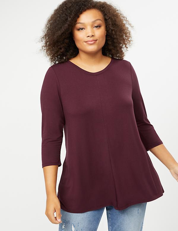 53f36e71fd6 Plus Size Tees & T-Shirts For Women | Lane Bryant
