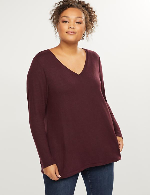 Softest Touch Long-Sleeve Swing Tee