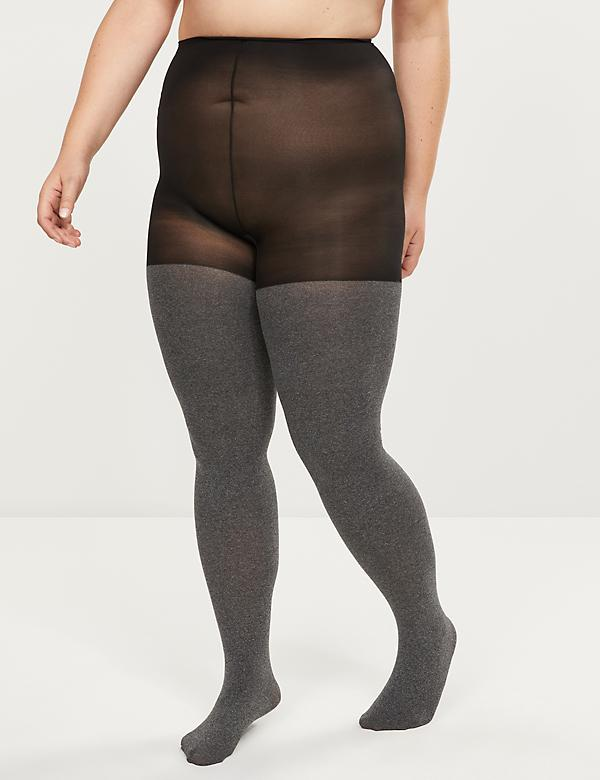 Super Opaque Smoothing Tights - Sheer to Waist
