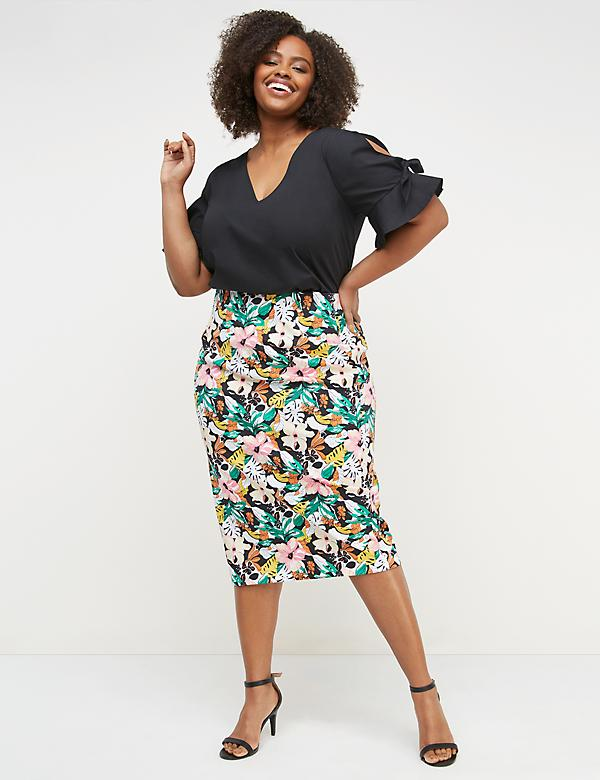 003f7dc226 Plus Size Dresses & Skirts On Sale | Lane Bryant