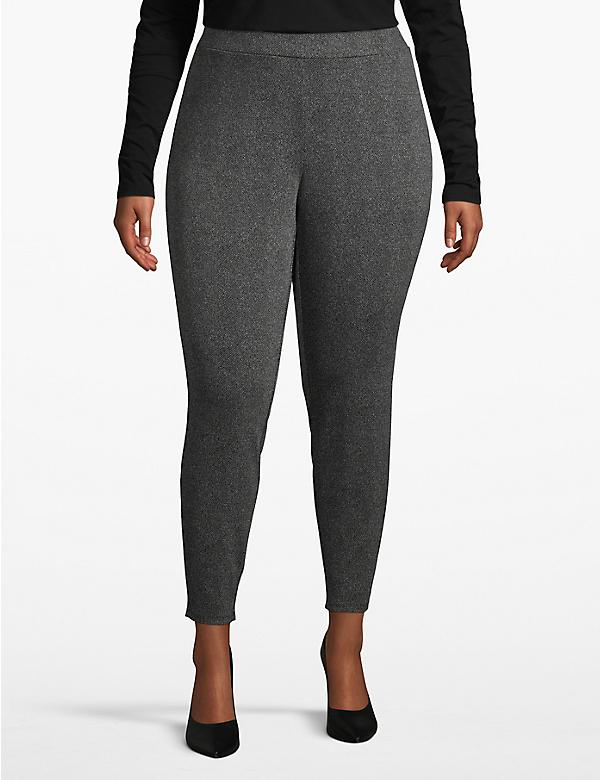 Textured Ponte Legging