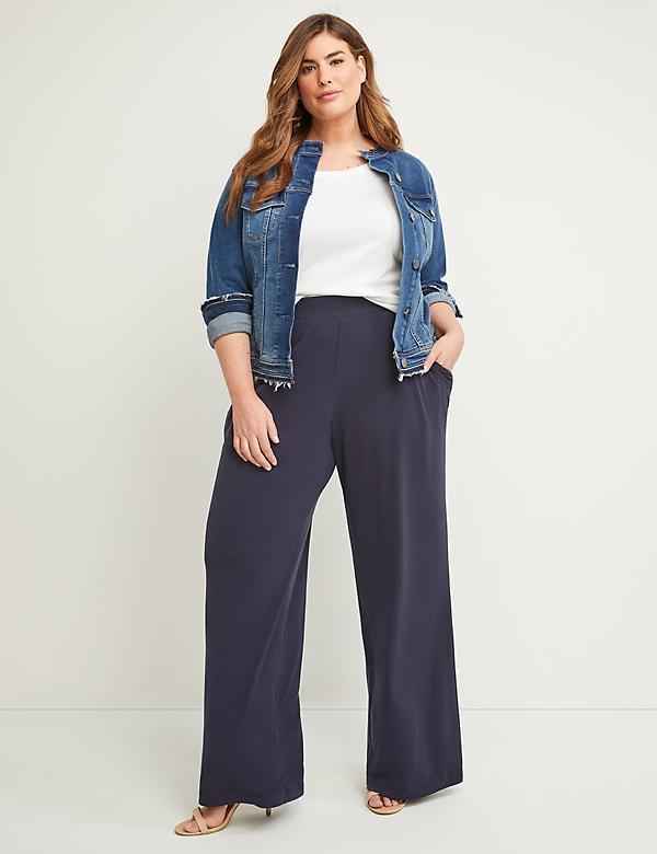 Plus Size Women\'s Wide Leg Pants | Lane Bryant