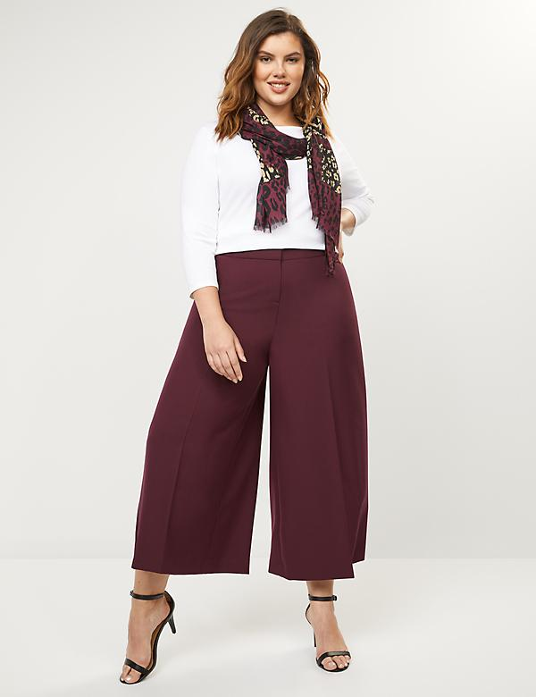 c0029119 Plus Size Wide Leg Pants For Women | Lane Bryant
