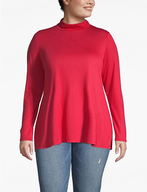 Turtleneck Swing Tee