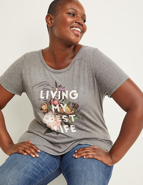 Living My Best Life Graphic Tee