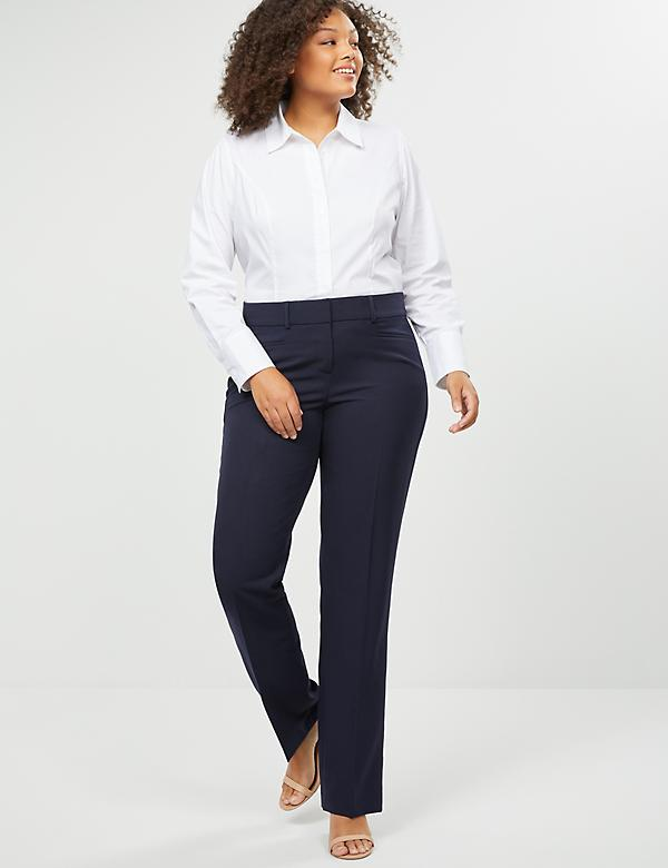 Allie Tailored Stretch Straight Leg Pant