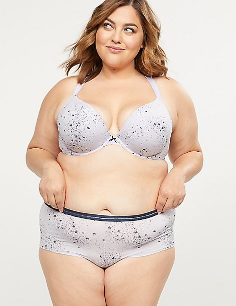 Convertible Smooth Boost Plunge Bra