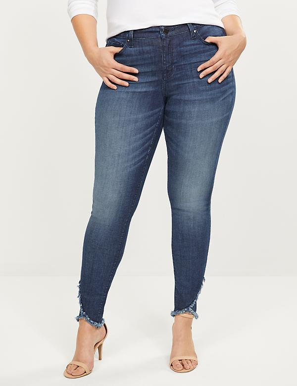 Signature Fit Skinny Jean With Frayed Tulip Hem