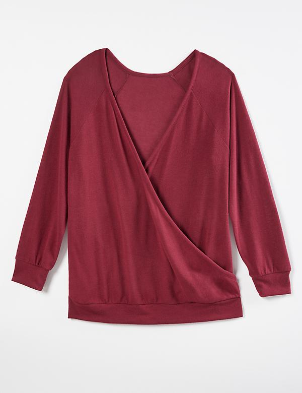 Softest Touch Reversible Surplice Top