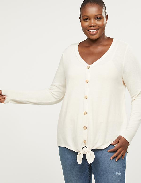 Softest Touch Button-Front Top