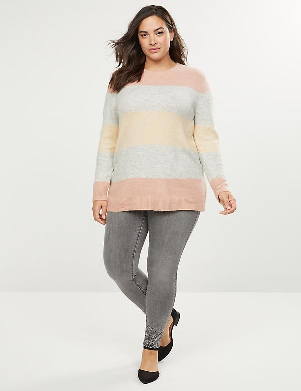 Sparkle Stripe Sweater