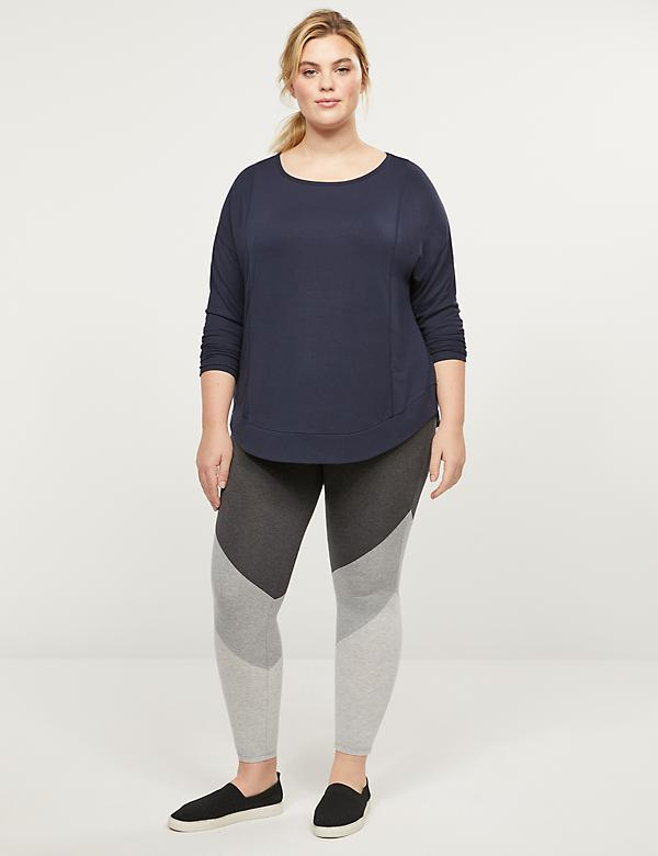 LIVI 7/8 Power Legging - Colorblock
