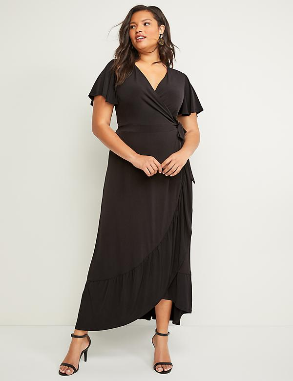 ebe52f50d20358 Plus Size Little Black Dresses | Lane Bryant