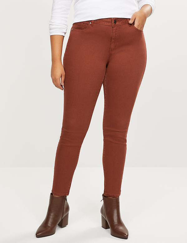 Signature Fit Skinny Jean - Brown Wash