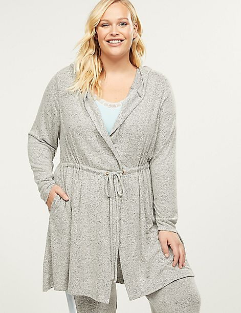 Brushed Jersey Sleep Robe