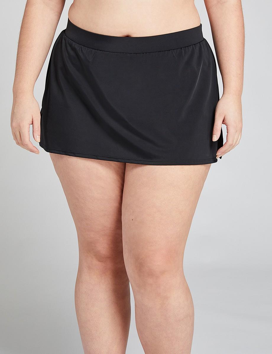 Slitted Swim Skirt