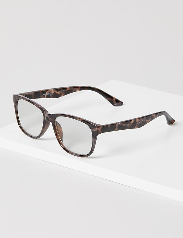 Sparkling Tortoise Print Reading Glasses