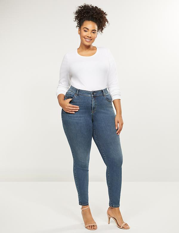 Curvy Fit High-Rise Skinny Jean - Medium Wash