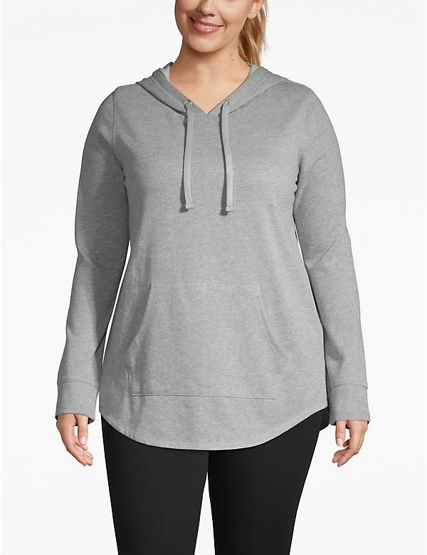 Active Metallic Hooded Sweatshirt