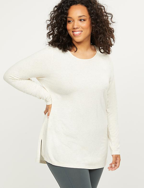 LIVI Active High-Low Long-Sleeve Tee