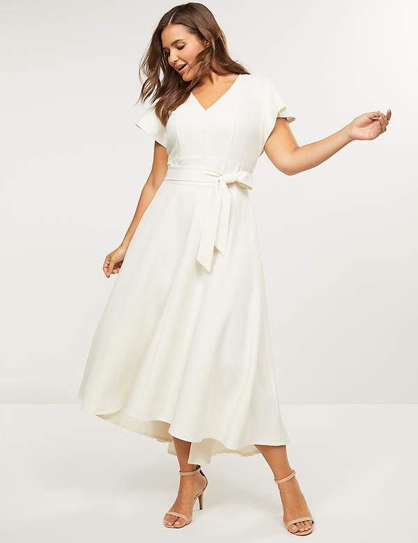 High-Low Lena Maxi Dress