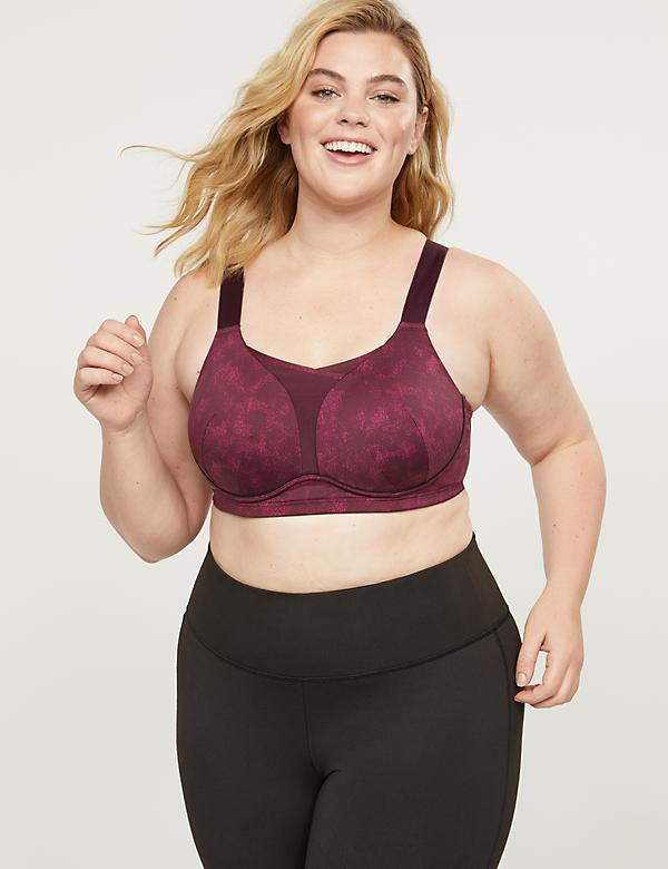 LIVI Medium-Impact No-Wire Sport Bra With Wicking