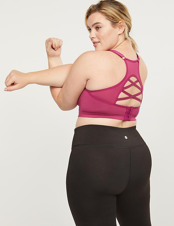 LIVI Medium-Impact Sport Bra With Wicking - Strappy Back