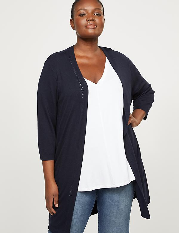 3/4-Sleeve Duster